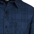 Mens Shirt Flanger Dark Blue