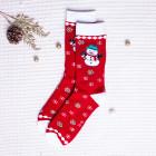 Vánoční ponožky Snowman