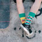 Many Mornings Veselé vzorované ponožky Watermelon Splash