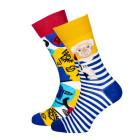 Mens Socks Picassocks Multicolor Size 39-42