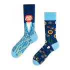 Mens Socks Van Gogh Blue Size 39-42