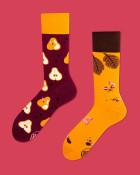Many Mornings Veselé vzorované ponožky Pear Pair
